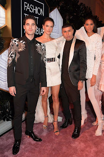 Alessandra Ambrosio at Fashion Trust Arabia Prize Awards Ceremony