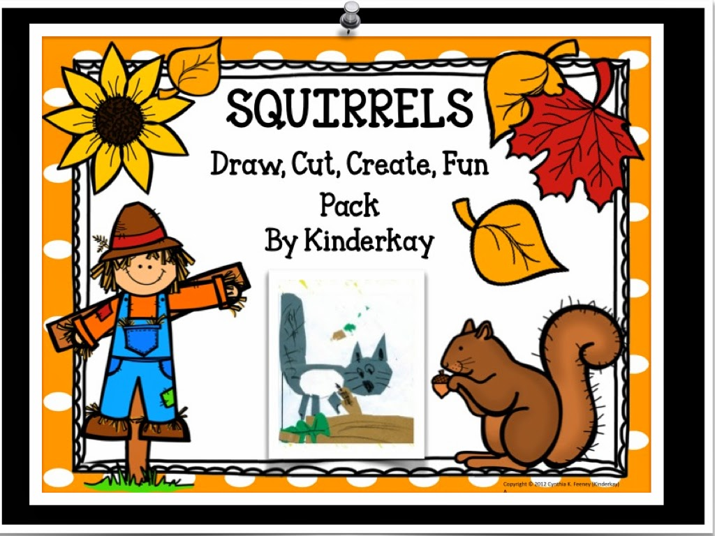 http://www.teacherspayteachers.com/Product/Fall-Squirrel-I-Can-Draw-I-Can-Write-Fun-Pack-143919