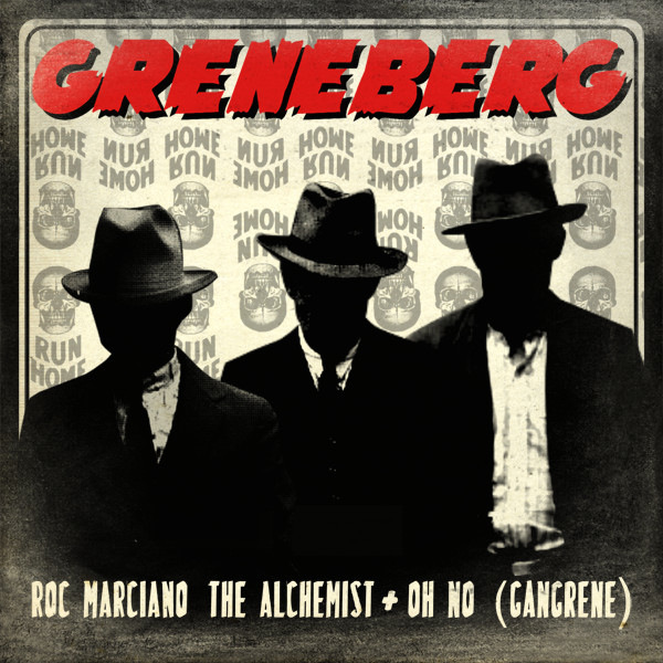 Greneberg - Greneberg (feat. Oh No, Roc Marciano & The Alchemist) - EP  Cover