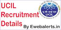 UCIL Recruitment