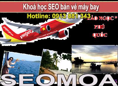 SEO dịch vụ bán vé máy bay