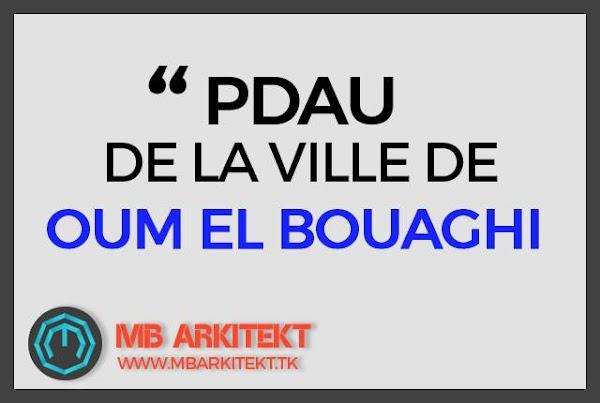 PDAU DU VILLE D'OUM EL BOUAGHI