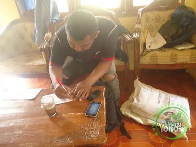 Proses pengiriman benih Padi TRISAKTI ke Sukabumi