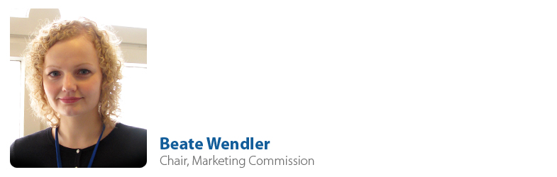 Beate Wendler, IYF Chair of Marketing Commission
