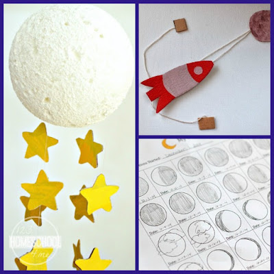 moon crafts for kids