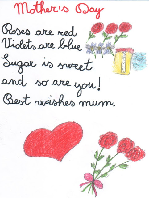 short mom poems from daughter