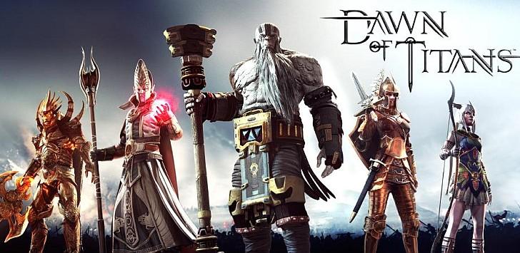 Dawn of Titans Apk V 1.12.1 مهكرة