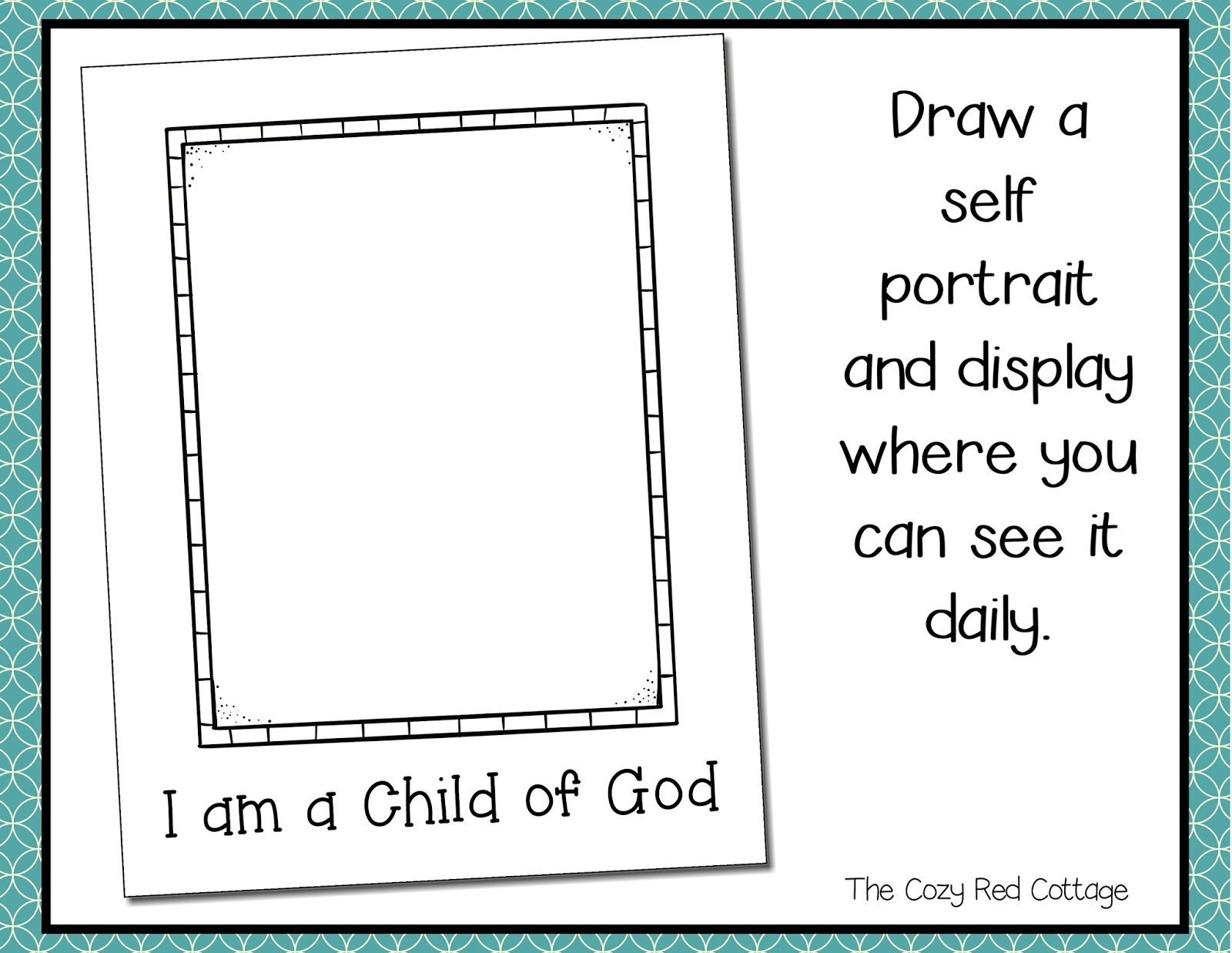 picture regarding I Am a Child of God Printable identified as The Comfy Purple Cottage: I am a Boy or girl of God FHE