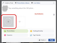 upload 360 facebook