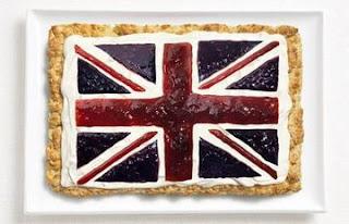 Makanan Unik bendera inggris