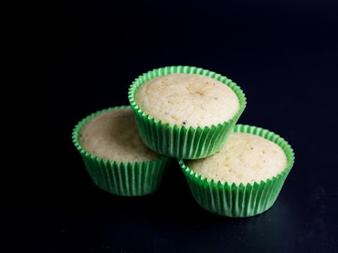 Lemon Cardamom Muffins