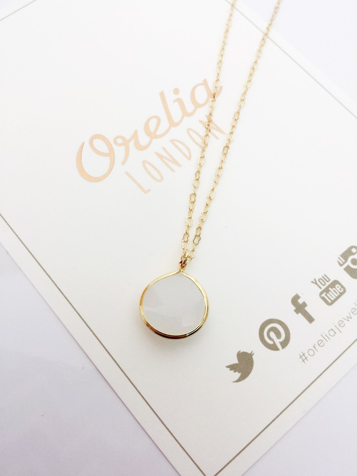 Orelia London Minimalist Multi-row Necklace