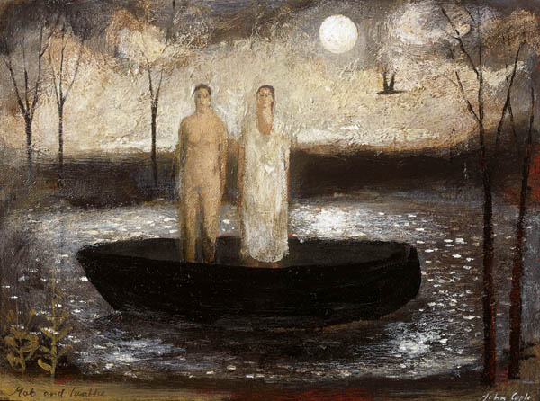 "Pinturas de arte, ""Mab and Lanthe"" by John Caple, 2017"