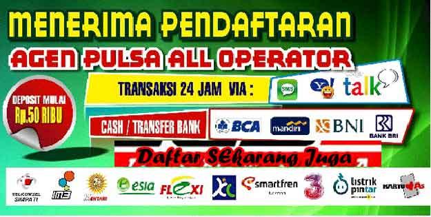 Jelita Reload Bisnis Agen Pulsa Elektrik Online Termurah