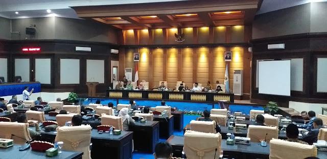Sambangi DPRD OKI, KPK berikan catatan untuk bersih wilayah dari korupsi