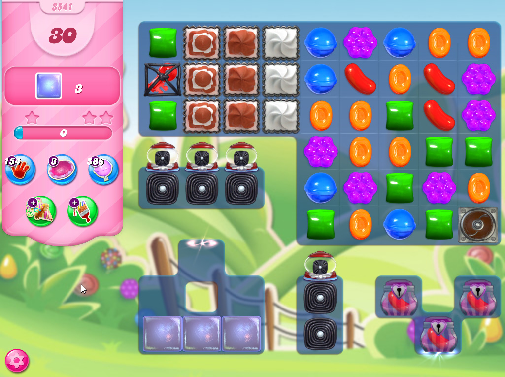 Candy Crush Saga level 3541