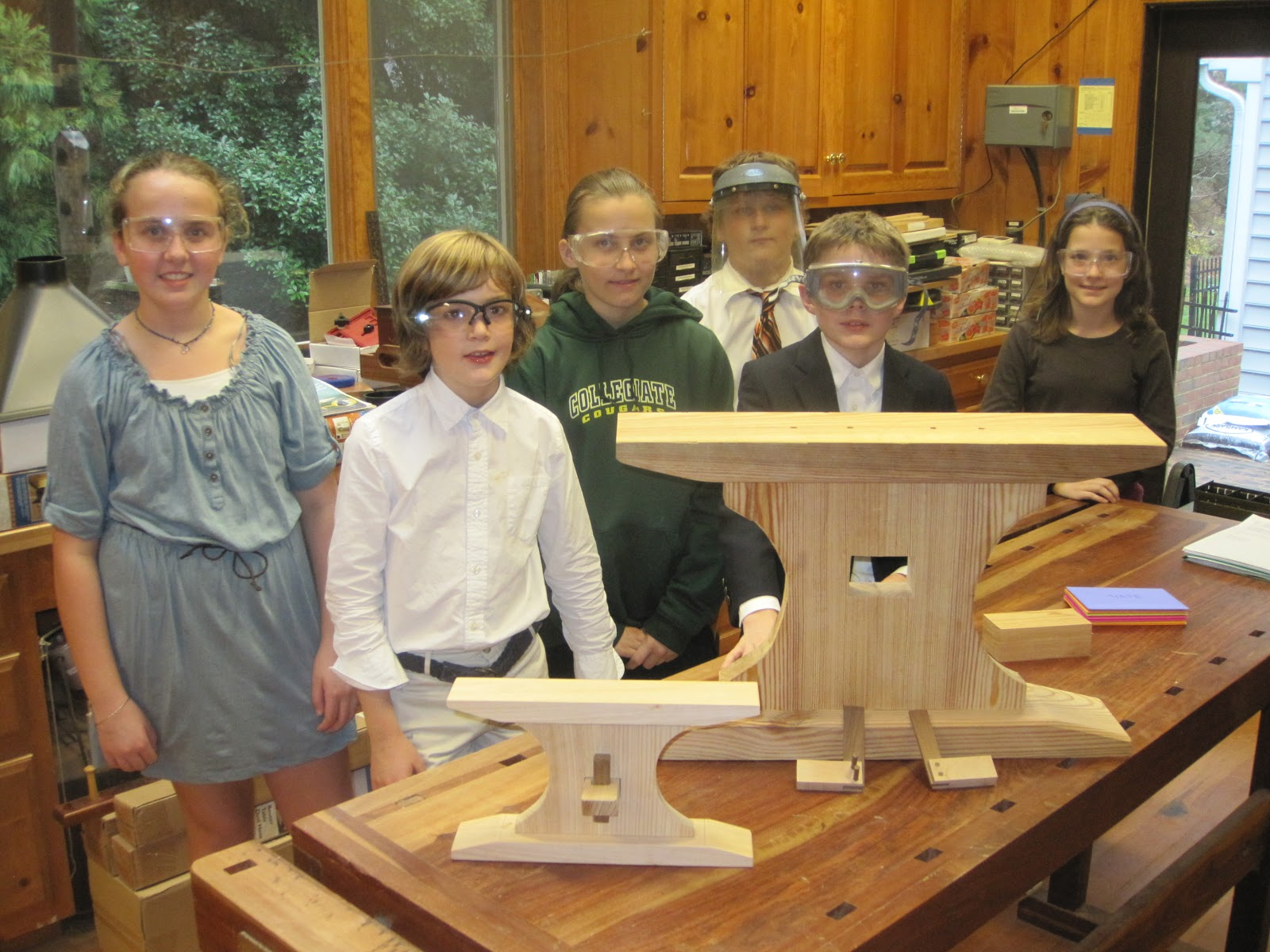 woodworking at collegiate school in richmond, va