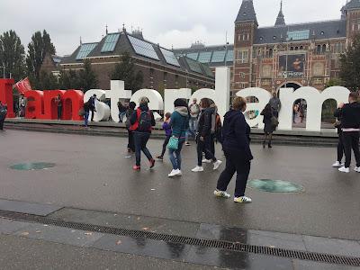 Amsterdam letters Museum Quarter