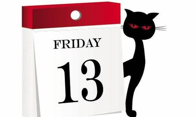 Παρασκευή και 13 - Γιατί είναι μια μέρα διαφορετική από τις άλλες...