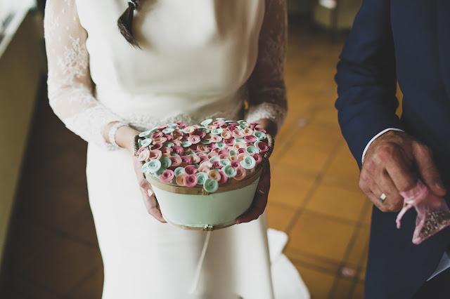 alfileres de boda Trocitos de Boda