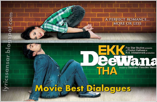 Ekk Deewana Tha Movie Dialogues By Prateik Babbar & Amy Jackson