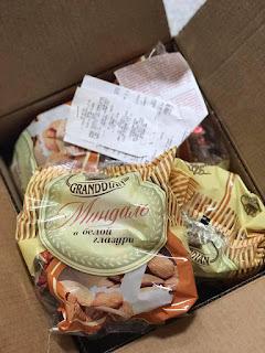 Kẹo socola hạnh nhân của Nga cho tết 2019