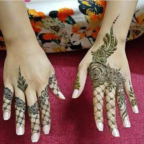 Henna Design for Fingers 1