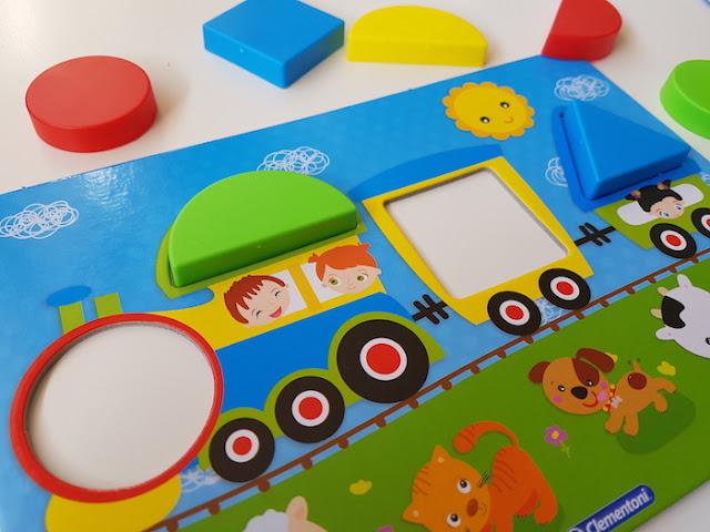 spelend leren vormen en kleuren