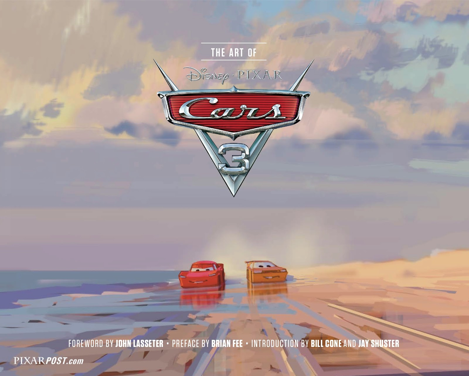 The Art Of Cars 3 Book Cover Revealed Amp Pre Order Now