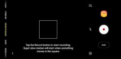 Cara Menggunakan Fitur Super Slow Motion Pada Kamera Samsung S9