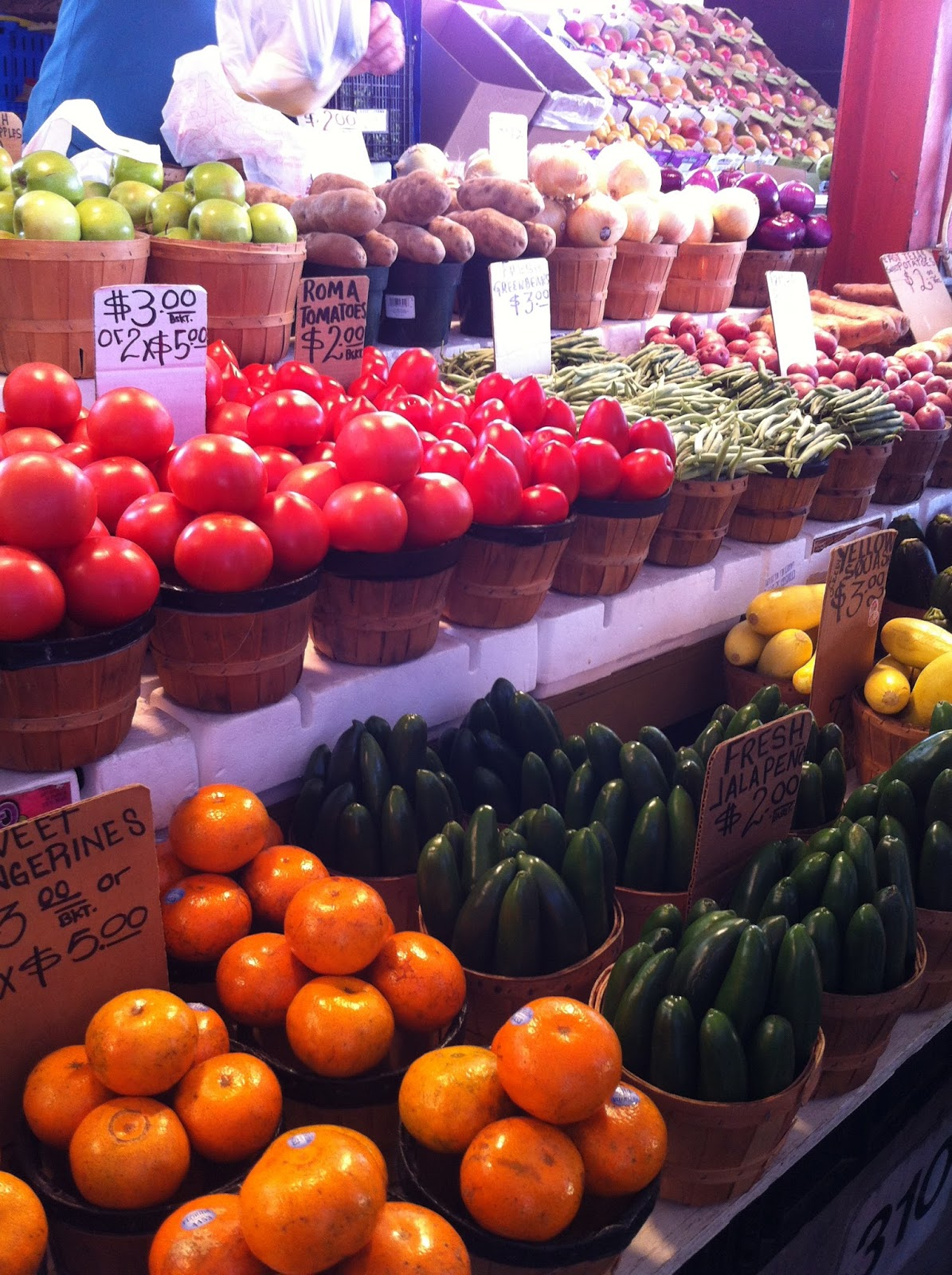 i scream for sunshine: dallas farmers market
