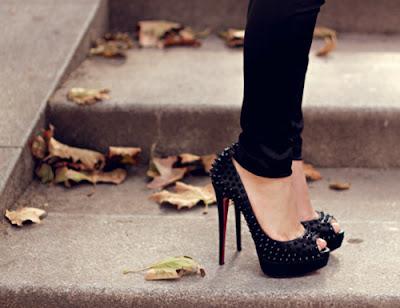 Zapatos de noche de moda