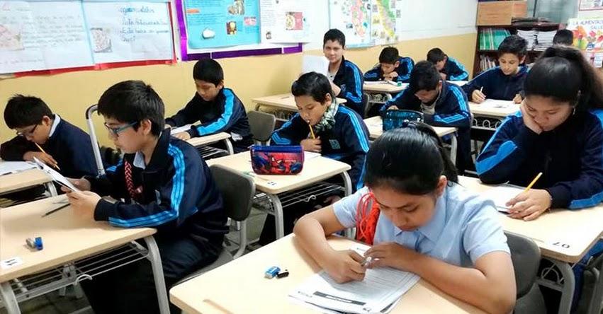 DRELM: Evaluación Regional a estudiantes de Lima Metropolitana se realiza en más de 1,500 instituciones educativas - www.drelm.gob.pe