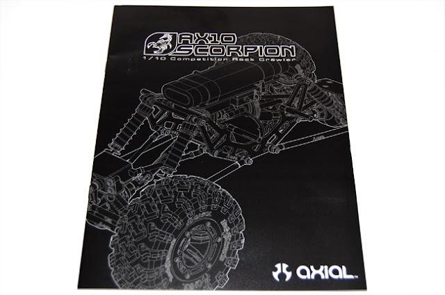 Axial AX10 Scorpion owners manual assembly instructions