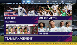 FTS Mod FIFA 18 Ultimate Team By XRTX 11 APK + OBB DATA Terbaru