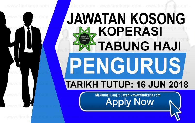 Jawatan Kerja Kosong Koperasi Tabung Haji Berhad logo www.findkerja.com www.ohjob.info jun 2018