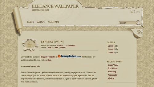 Elegance-Wallpaper,professional templates,white template,brown template,book template,wallpaper template