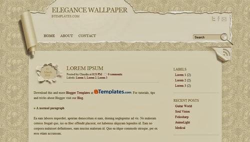 Elegance-Wallpaper,professional templates,white template,brown template,book template,wallpaper template