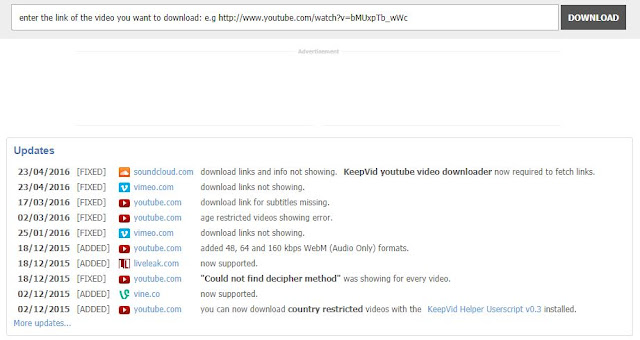 How to download video from YouTube, Facebook, Vimeo, DailyMotion,etc. ?