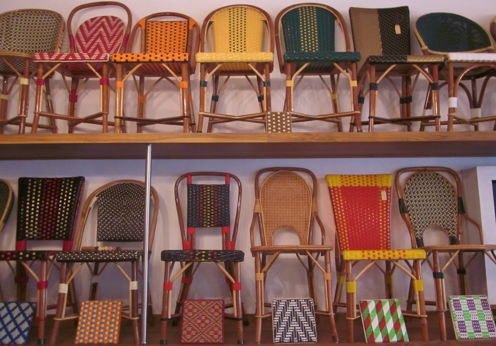 Parisian Cafe Chairs Cheap Tables And Polly Vous Francais French Furniture For All