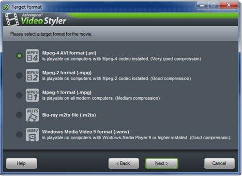 تحميل برنامج تقطيع ودمج الفيديو Ashampoo Video Styler