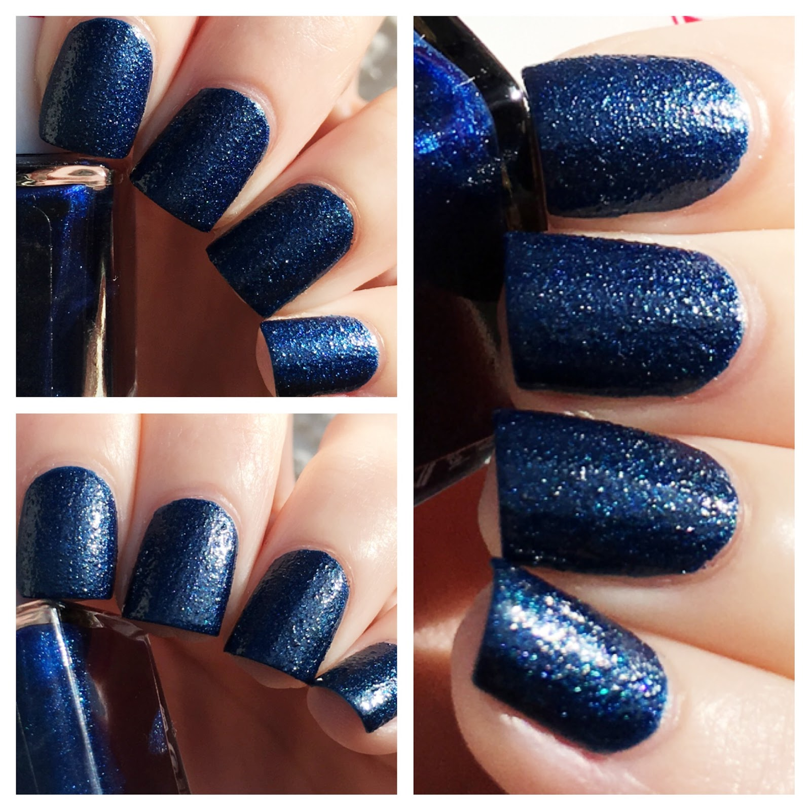 cat eyes & skinny jeans: NOTD: 2B Colours Jeans Look Nail Polish in Blue