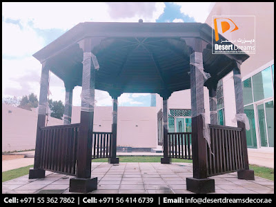 Octagon Gazebo in Uae | Rectangular Gazebo in Uae.