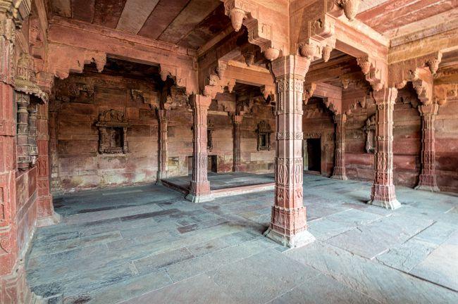 Krishna Temple at Jodha Bai's Palace.