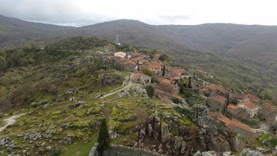 Vistas de Trevejo desde el Castillo