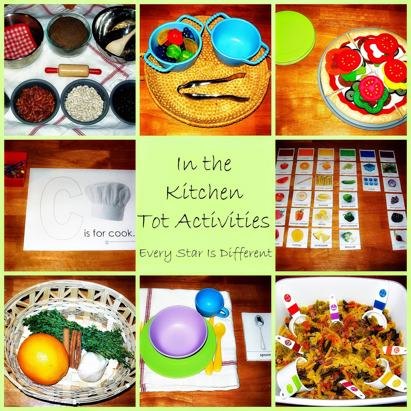 Kitchen Activities for Tots