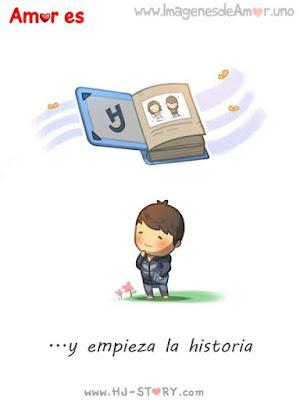 hj story español