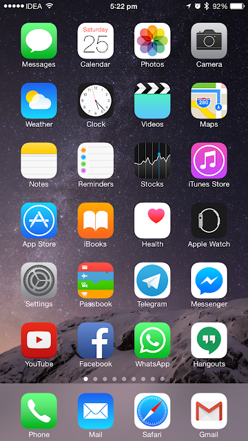 How to remove 3D parallax effect in an iPhone or iPad running iOS 8