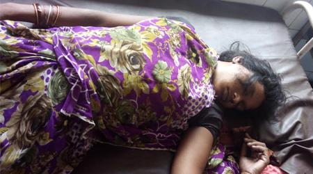 बटियागढ़ में बिजली गिरी, 1 महिला की मौत, 4 घायल