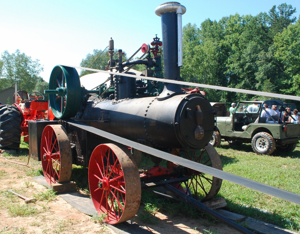 The Iron Mule: J.I. Case 30 HP Portable Steam Engine